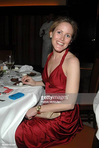 Kate Meckler attends LOVE HEALS 25th Anniversary Dinner at Del Posto Restaurant on November 12 2007 in New York City