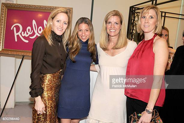 Kate Meckler, Wendy Straker, Stacey Santo and Meghan Donahue attend 50 Fabulous Females to Benefit Love Heals at Diane von Furstenberg Studio on...