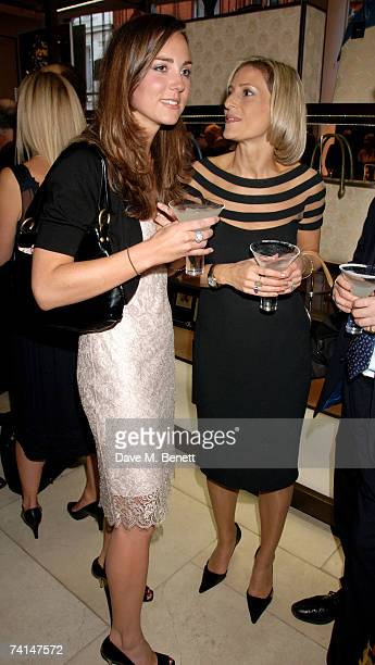Kate Middleton and Emily Matlis attend the book launch party of The Young Stalin The Adventurous Early Life Of The Dictator 18781917 by Simon Sebag...