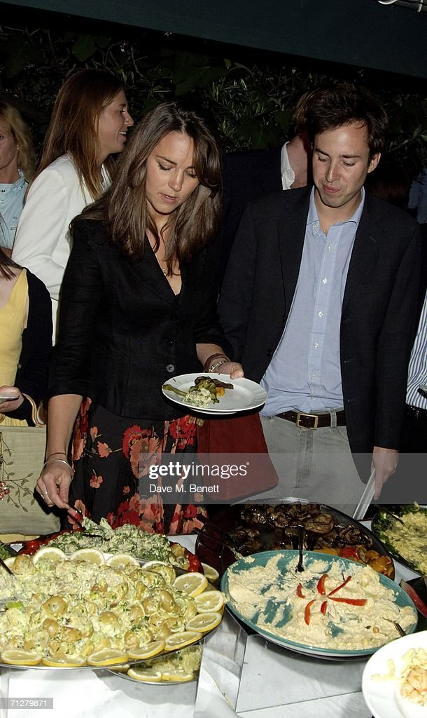 Kate Middleton and guest attend the Sony Ericsson WTA Tour's pre-Wimbledon party hosted by Sir Richard Branson of Virgin, at The Roof Gardens on June 22, 2006 London, England.