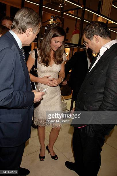 Kate Middleton and guests attend the book launch party of The Young Stalin The Adventurous Early Life Of The Dictator 18781917 by Simon Sebag...
