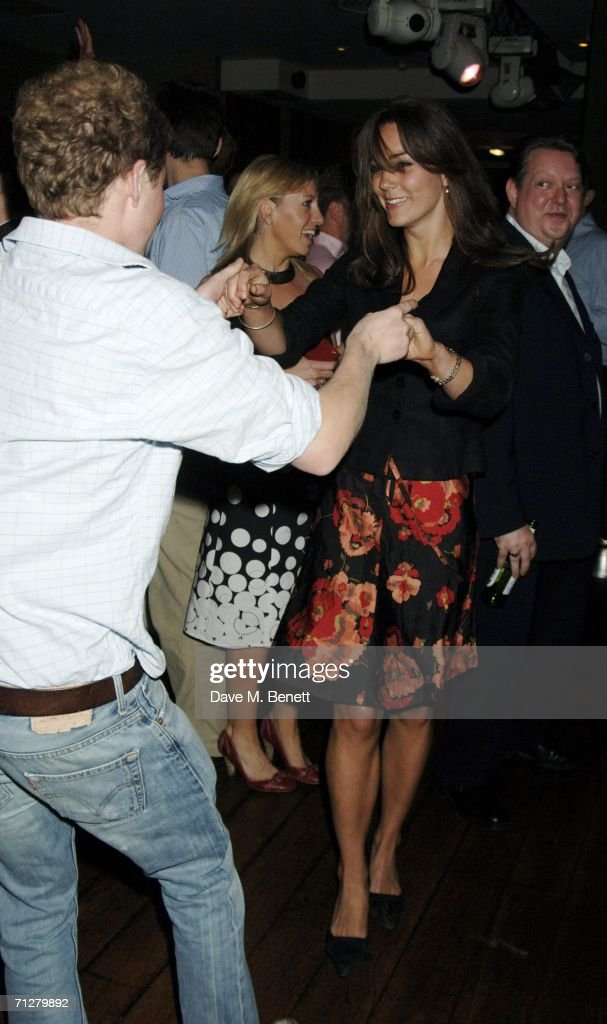 Kate Middleton and Guy Pelly (L) dance at the Sony Ericsson WTA Tour's pre-Wimbledon party hosted by Sir Richard Branson of Virgin, at The Roof Gardens on June 22, 2006 London, England.