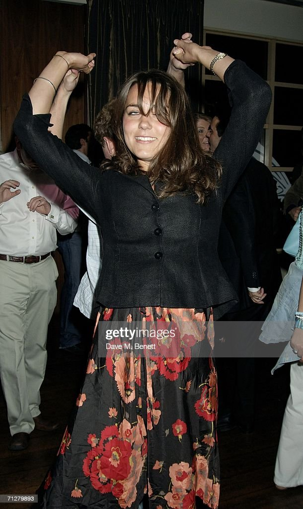 Kate Middleton and Guy Pelly dance at the Sony Ericsson WTA Tour's pre-Wimbledon party hosted by Sir Richard Branson of Virgin, at The Roof Gardens on June 22, 2006 London, England.