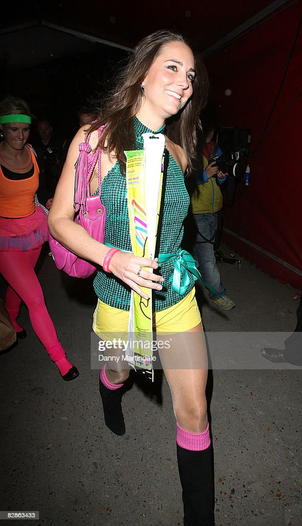 Day-Glo Midnight Roller Disco - Arrivals : News Photo