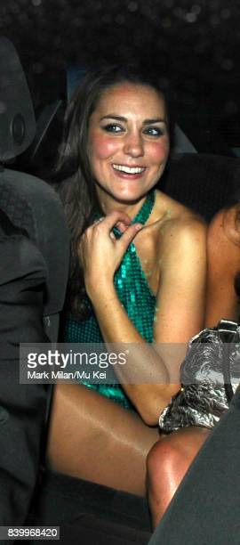 Kate Middleton attends the DayGlo Charity Roller Disco at the Renaissance Rooms in Vauxhall on September 17 2008 in London England