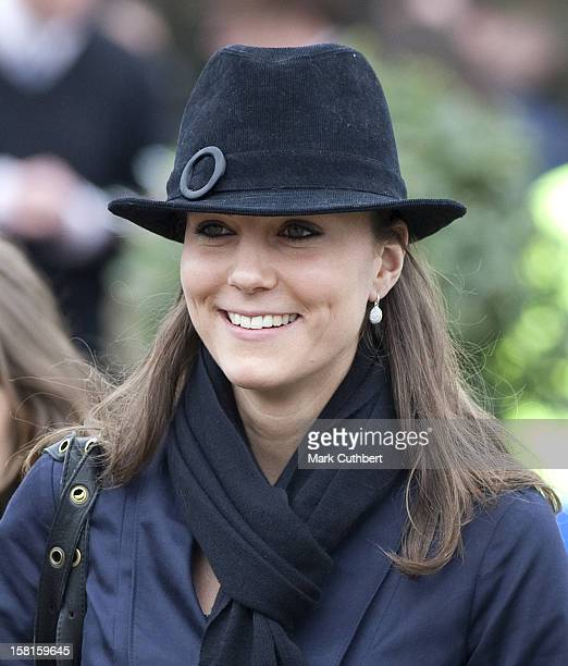 Kate Middleton Attends The Festival At Cheltenham Race Course