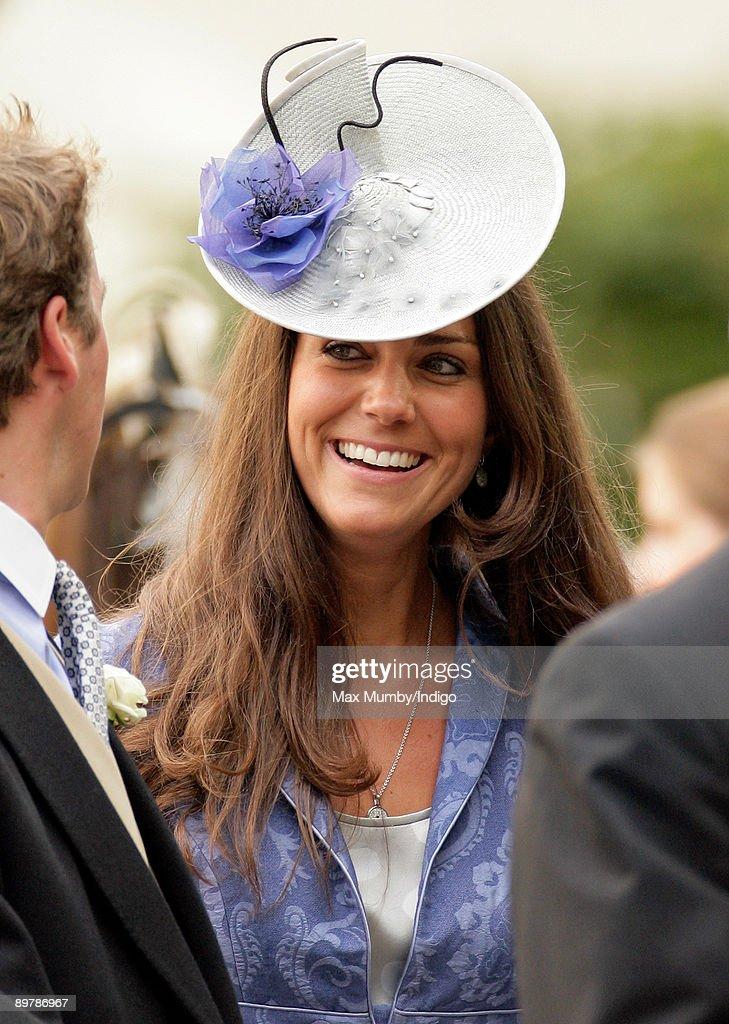 Royals Attend Nicholas Van Cutsem And Alice Hadden-Paton's Wedding : News Photo
