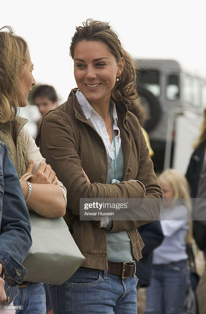 Kate Middleton Friend Of Prince William Attends The Second Day Gatcombe Park