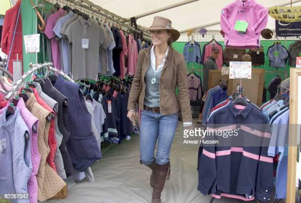 Kate Middleton, girlfriend of Prince William, attends the second day of the Gatcombe Park Festival of British Eventing at Gatcombe Park, on August 6,...