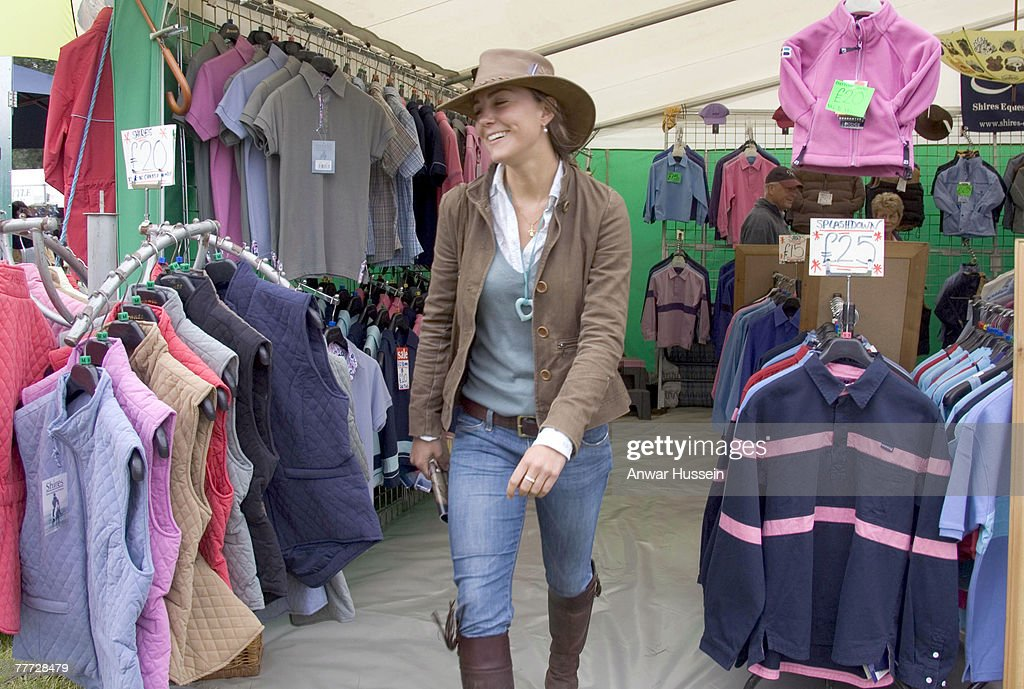 Gatcombe Horse Trials - Day Two - August 6, 2005 : News Photo