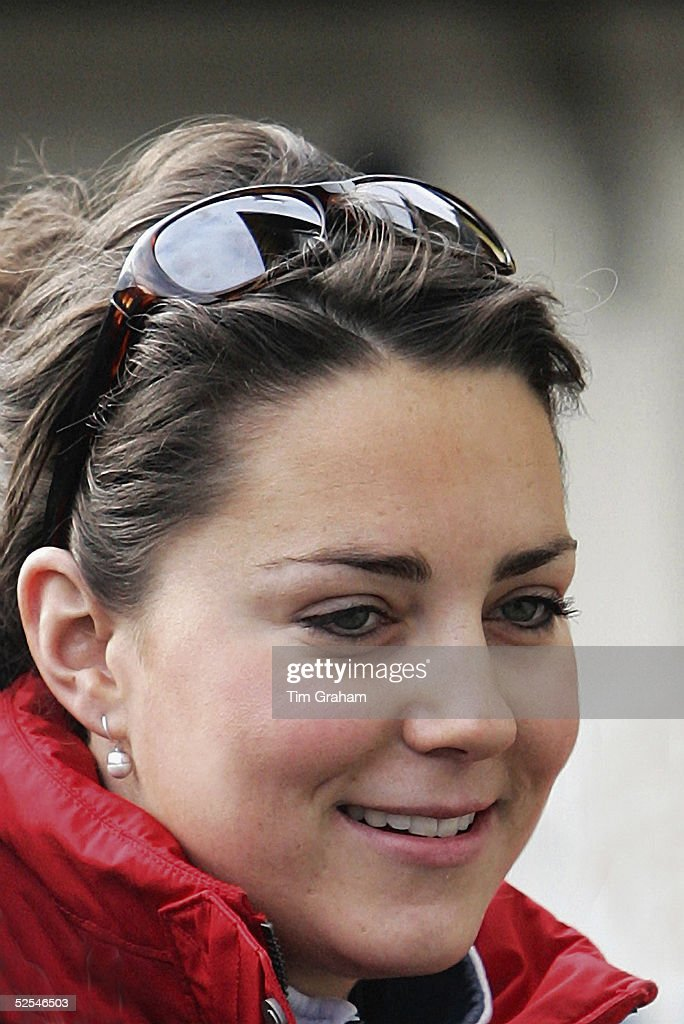 Kate Middleton on Royal Skiing Holiday In Klosters : News Photo