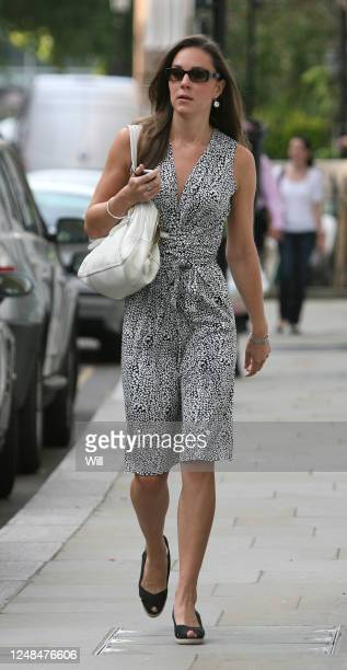 Kate Middleton is seen leaving her flat in Chelsea on August 09, 2007 in London, England.
