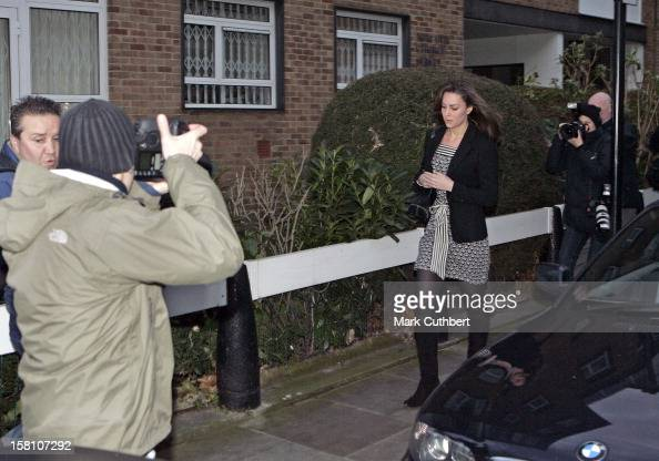Kate Middleton Leaves Her Home In London 39 S Chelsea On Her