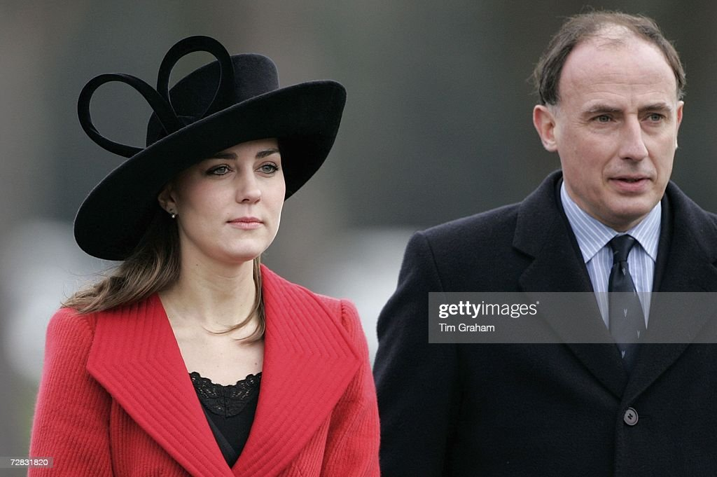 Kate Middleton at Passing-Out Parade : News Photo