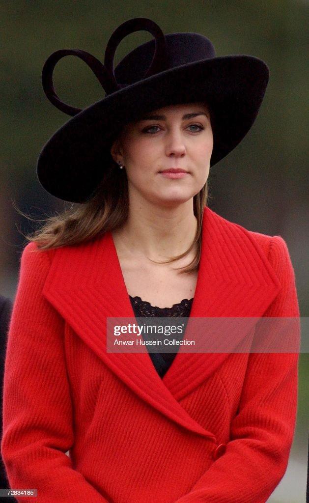 Royals At Sovereign's Parade Sandhurst : News Photo