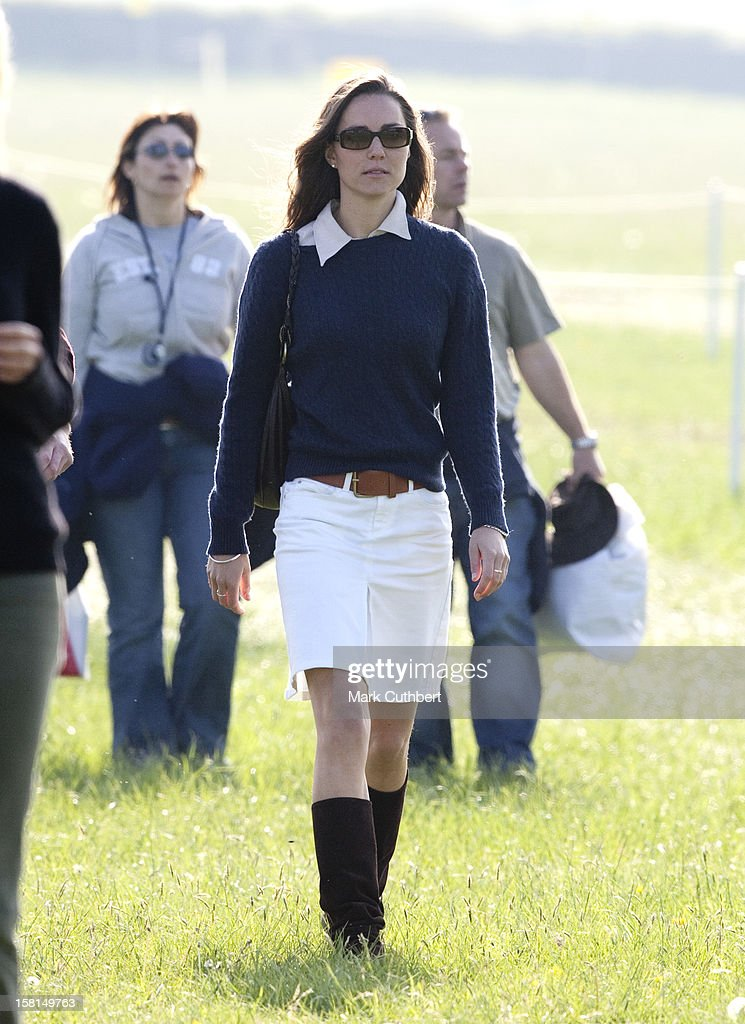 Kate Middleton At Badminton Horse Trails : News Photo