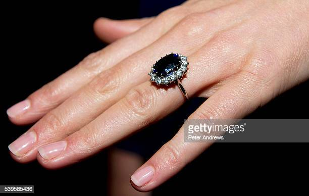 360 Princess Diana Ring Photos And Premium High Res Pictures Getty Images