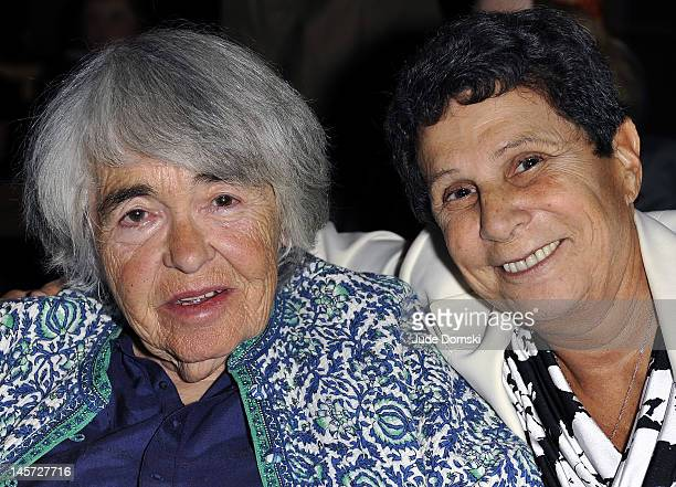 Kate Millett and Dr Eleanor Pam attend the 2012 Lambda Literary Awards at The Graduate Center at City University of New York on June 4 2012 in New...