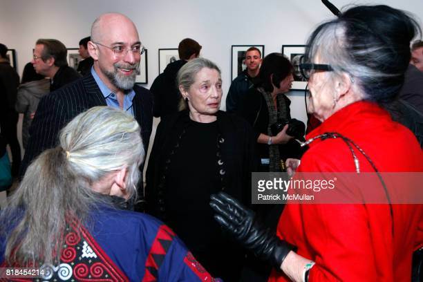 Kate Millett Steven Kasher Cynthia MacAdams and Aloma Ichinose attend TIMOTHY GREENFIELDSANDERS And CYNTHIA MACADAMS Gallery Opening at Steven Kasher...