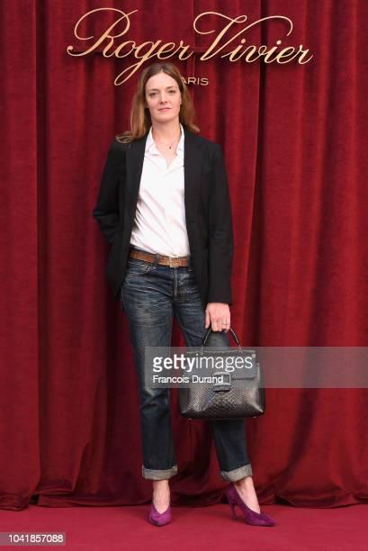 Kate Moran attends the Roger Vivier Presentation Spring/Summer 2019 during Paris Fashion Week on September 27 2018 in Paris France