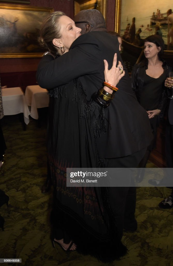 Edward Enninful & Kate Moss Host Private Dinner In Honour Of Giovanni Morelli