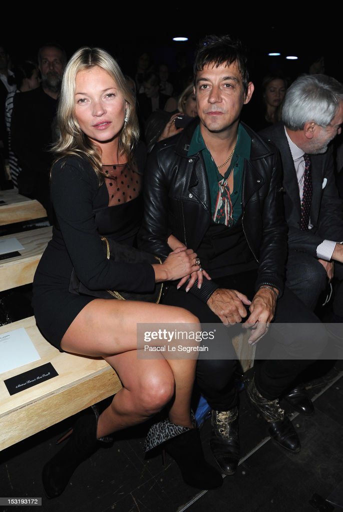 Saint Laurent: Front Row - Paris Fashion Week Womenswear Spring / Summer 2013