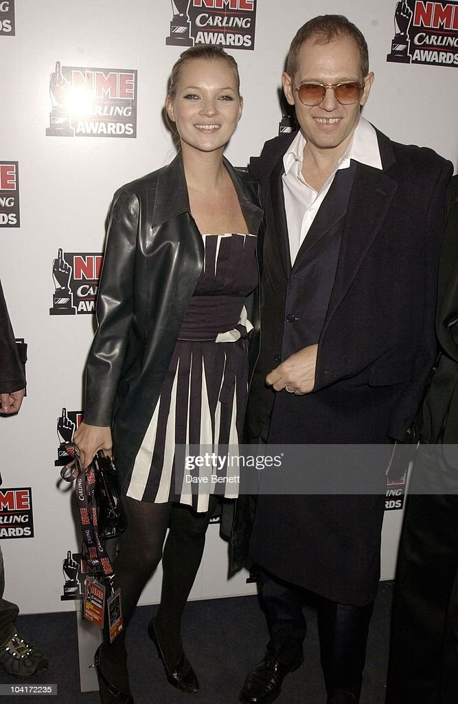 Kate Moss And Paul Simonon (the Clash), Nme Carling Awards 2003, At Po Na Na, Hammersmith, London