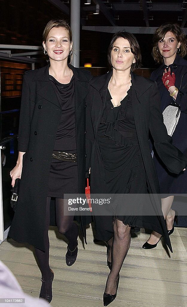 Kate Moss And Sadie Frost, The Young Vics First Night Of Jude Law's 'Dr Faustus' And The Party At The London Eye, Where The Party Enjoyed A Ride In One Of The Pods.then They Went Into County Hall To Carry On The Party.