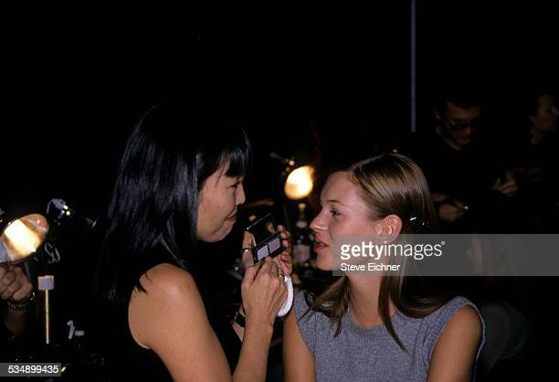Kate Moss at Marc Jacobs Fashion Show New York November 3 1997