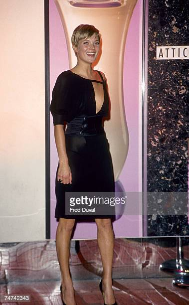Kate Moss at Versace Woman Party at Attica 19th February 2001 at the Sarah Seymour Archive Pictures at Various in London
