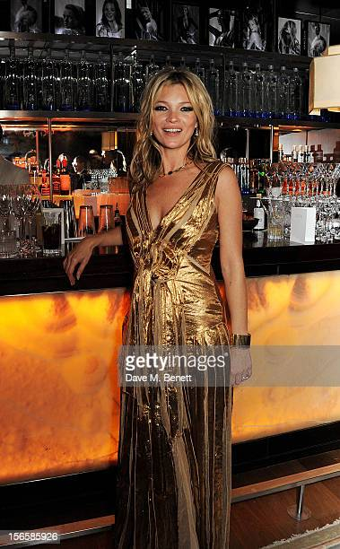 Kate Moss attends an after party celebrating the launch of 'Kate The Kate Moss Book' hosted by Marc Jacobs published by Rizzoli New York and...
