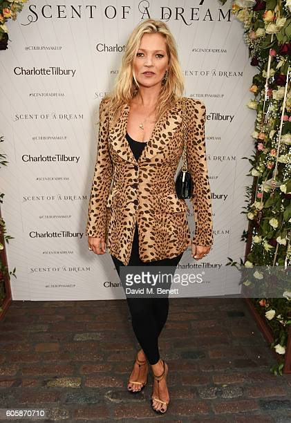 Kate Moss attends as Charlotte Tilbury celebrates the launch of her first fragrance 'Scent Of A Dream' with 'face' Kate Moss featuring a surprise...