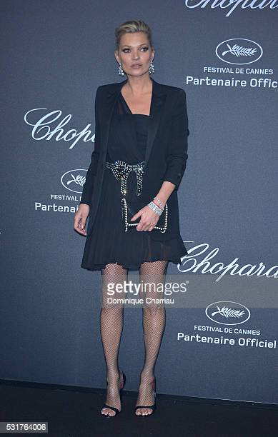 Kate Moss attends Chopard Wild Party as part of The 69th Annual Cannes Film Festival at Port Canto on May 16 2016 in Cannes France