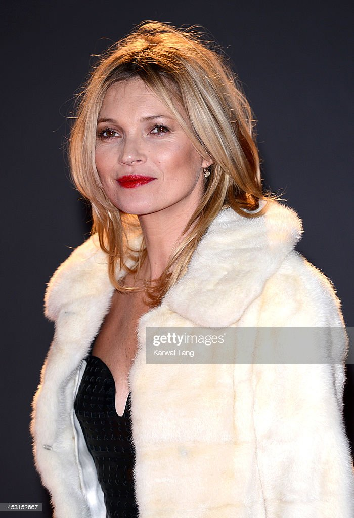 Kate Moss attends the British Fashion Awards 2013 held at the London Coliseum on December 2, 2013 in London, England.