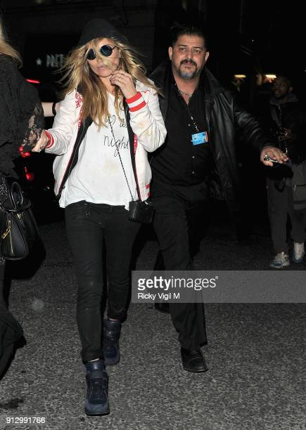 Kate Moss attends the Death Of A Geisha VIP Halloween Party on November 1 2014 in London England