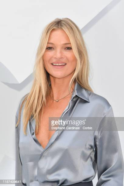 Kate Moss attends the Dior Homme Menswear Spring Summer 2020 show as part of Paris Fashion Week on June 21, 2019 in Paris, France.