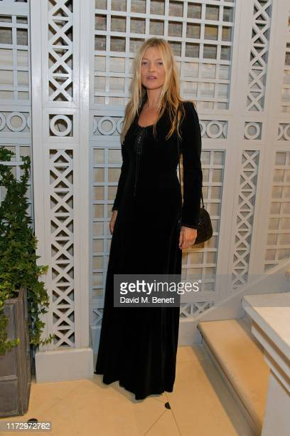 Kate Moss attends the Dior Sessions book launch on October 01 2019 in London England