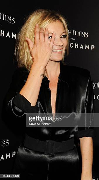 Kate Moss attends the Kate Moss Longchamp LFW party at Lonchamp on September 21 2010 in London England