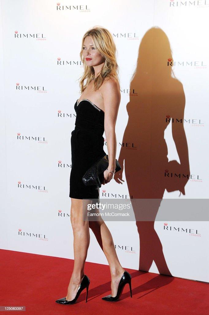 Rimmel Celebrates 10 Year Partnership With Kate Moss : News Photo