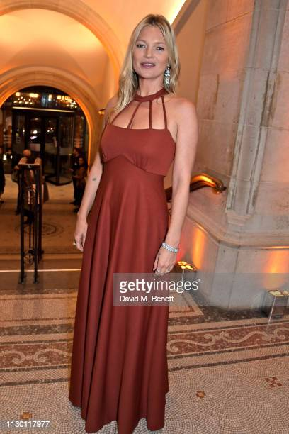 Kate Moss attends The Portrait Gala 2019 hosted by Dr Nicholas Cullinan and Edward Enninful to raise funds for the National Portrait Gallery's...