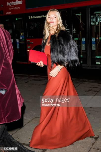 Kate Moss attends the Portrait Gala at National Portrait Gallery on March 12, 2019 in London, England.