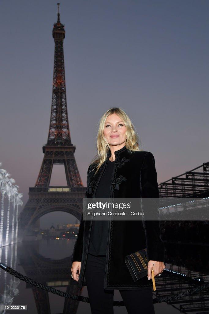 Saint Laurent : Photocall - Paris Fashion Week Womenswear Spring/Summer 2019