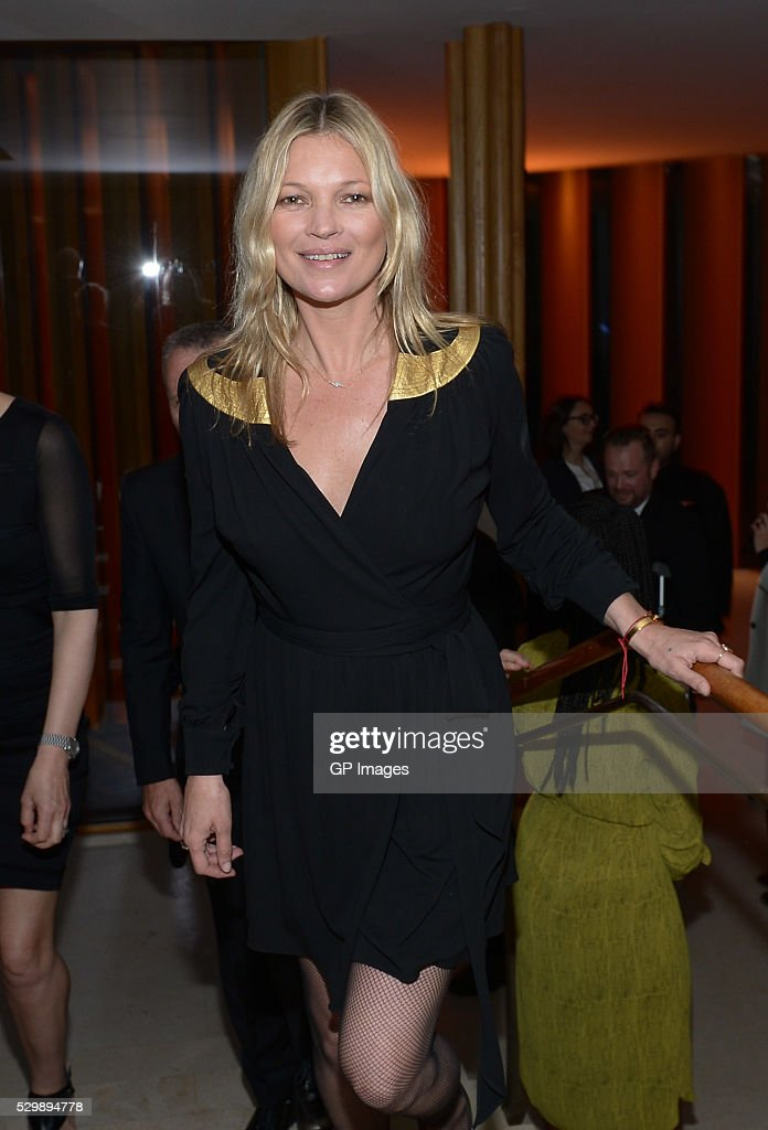 Kate Moss attends the Saks Fifth Avenue celebrates the exclusive launch of Decorte Beauty with Kate Moss at Integral House on May 9, 2016 in Toronto, Canada.