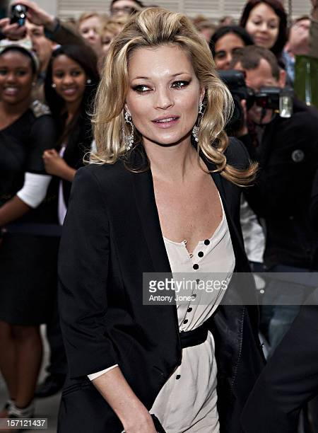 Kate Moss Attends The Topshop Store Launch Party At Knightsbridge London