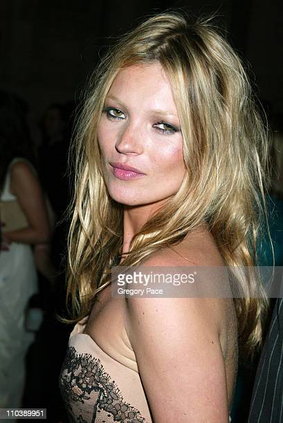 Kate Moss during 2005 CFDA Fashion Awards Inside at New York Public Library in New York City New York United States