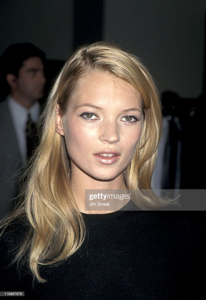 Kate Moss Calvin Klein Boutique Personal Appearance - September 18, 1995 : News Photo