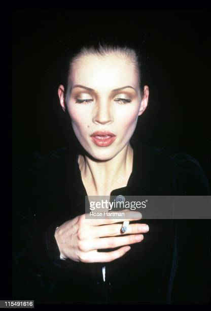Kate Moss during Spring Fashion Week Isaac Mizrahi 1995 in New York New York United States