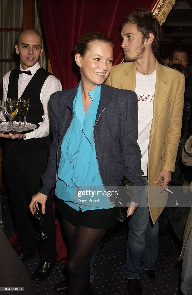 Kate Moss, Frost French Fashion Tea Party At Bafta Cinema In Picadilly,turned The Normal Fashion Show On Its Head As The Audience Was Treated To A Film Of The Designers New Collection, London Fashion Week 2003
