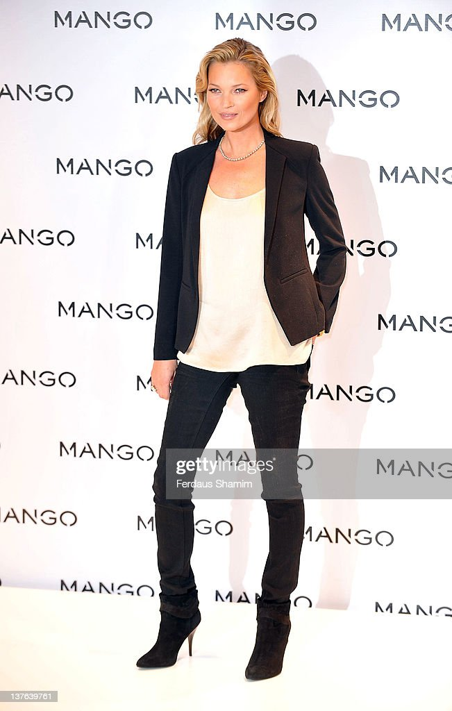 Kate Moss - New Face of MANGO : News Photo