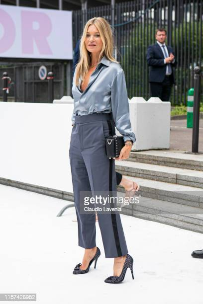 Kate Moss is seen during the Dior Homme Menswear Spring Summer 2020 show on June 21, 2019 in Paris, France.